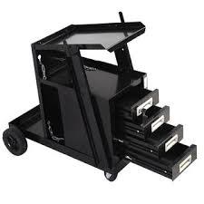 Goplus Welding Cart