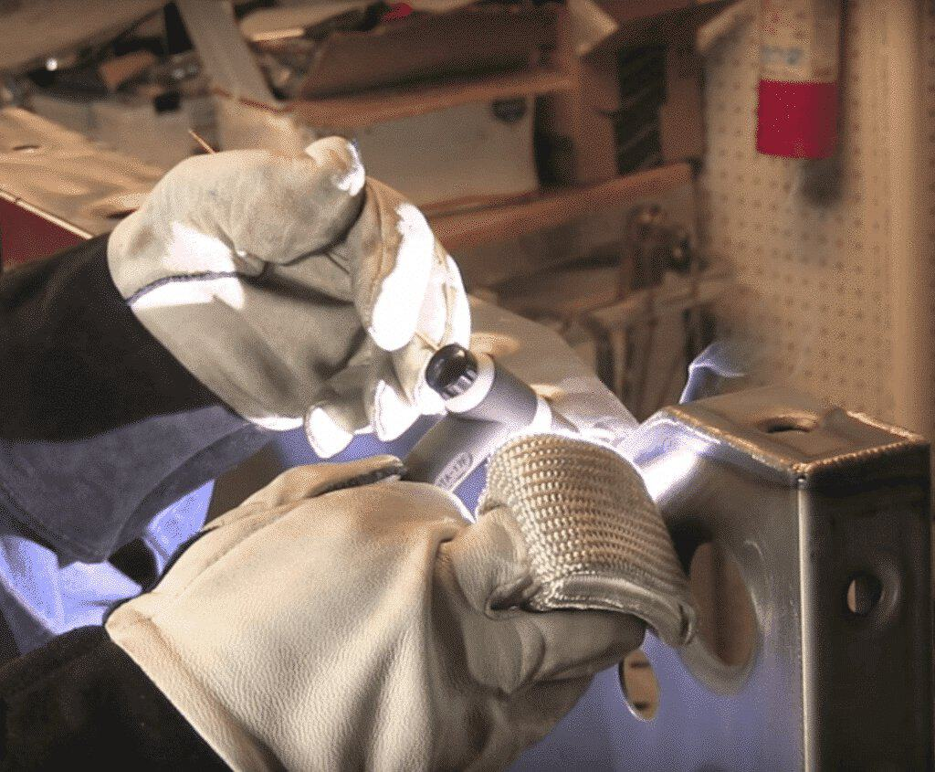 TIG Finger in use